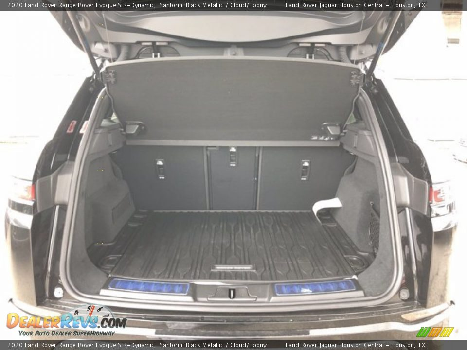 2020 Land Rover Range Rover Evoque S R-Dynamic Santorini Black Metallic / Cloud/Ebony Photo #26