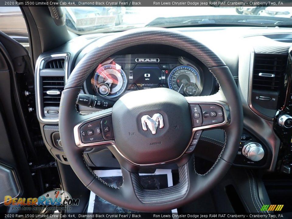 2020 Ram 1500 Limited Crew Cab 4x4 Steering Wheel Photo #16