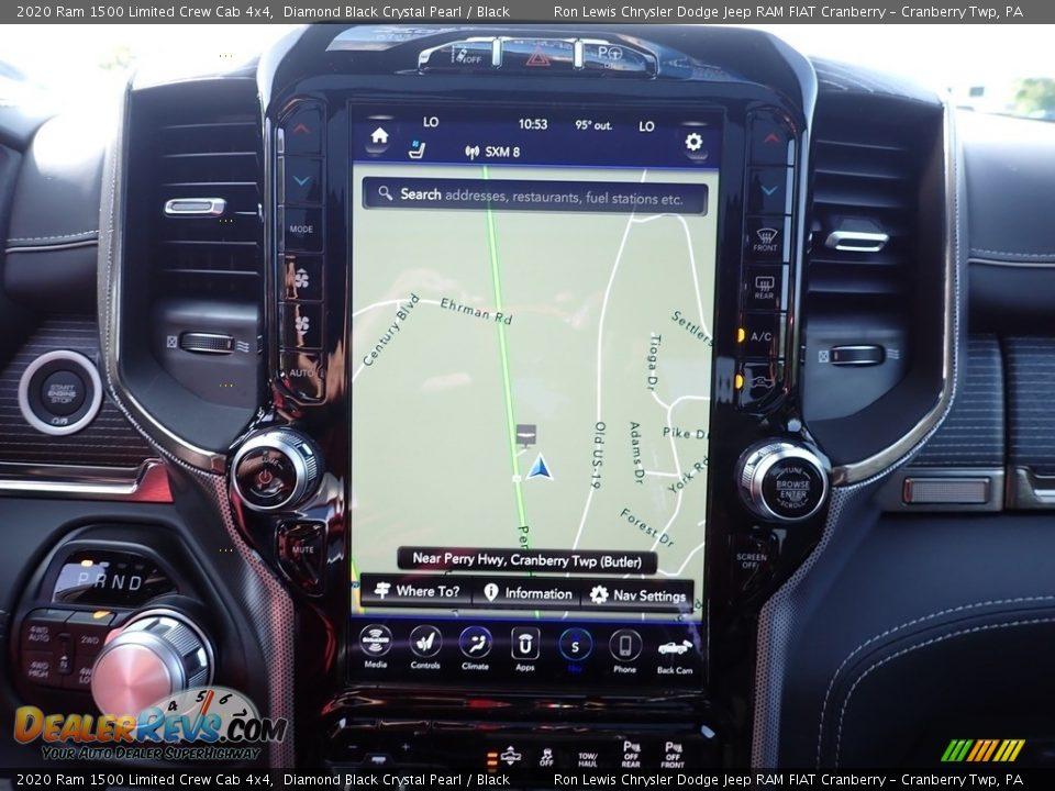 Navigation of 2020 Ram 1500 Limited Crew Cab 4x4 Photo #19