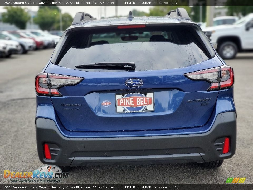 2020 Subaru Outback Onyx Edition XT Abyss Blue Pearl / Gray StarTex Photo #7