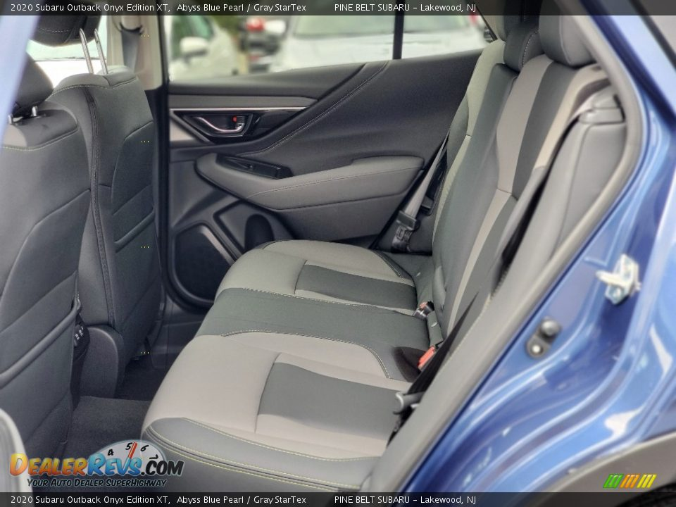 Rear Seat of 2020 Subaru Outback Onyx Edition XT Photo #9
