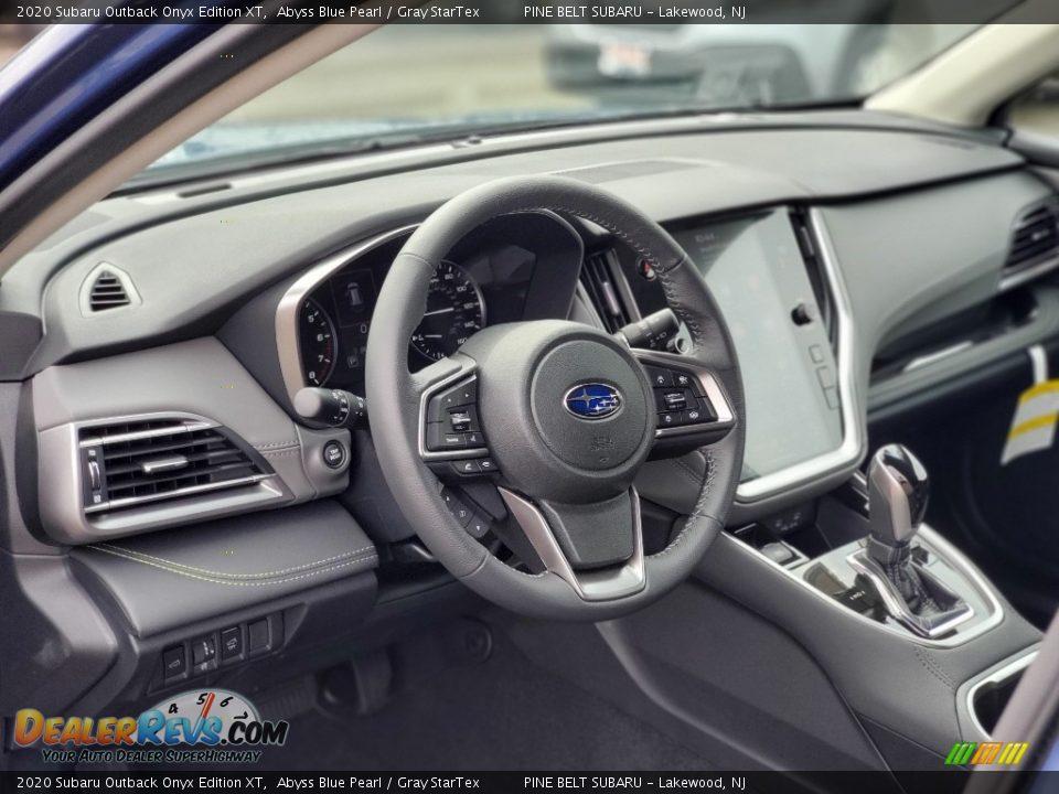 Dashboard of 2020 Subaru Outback Onyx Edition XT Photo #12