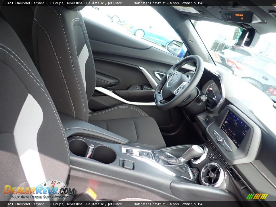 Front Seat of 2021 Chevrolet Camaro LT1 Coupe Photo #10