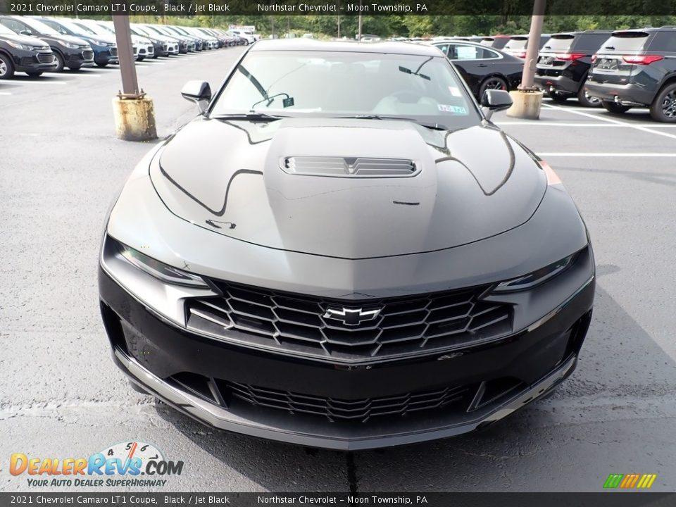 2021 Chevrolet Camaro LT1 Coupe Black / Jet Black Photo #9