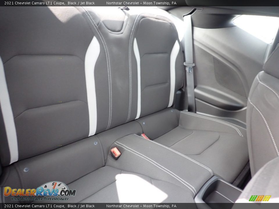 Rear Seat of 2021 Chevrolet Camaro LT1 Coupe Photo #10