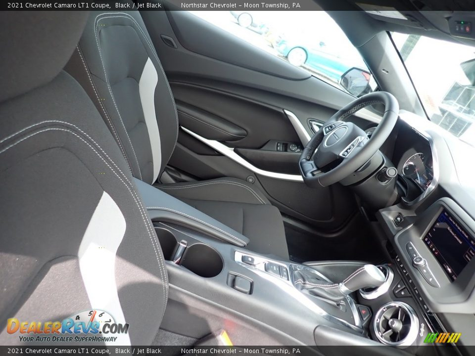 Front Seat of 2021 Chevrolet Camaro LT1 Coupe Photo #11