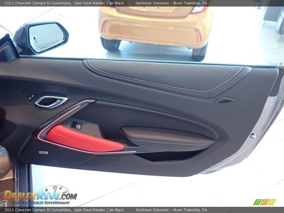 Door Panel of 2021 Chevrolet Camaro SS Convertible Photo #8