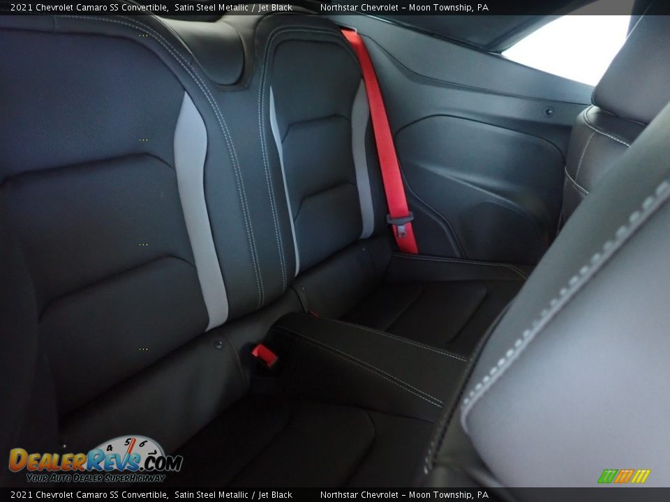 Rear Seat of 2021 Chevrolet Camaro SS Convertible Photo #10