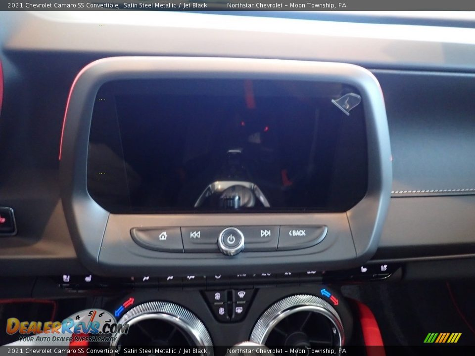 2021 Chevrolet Camaro SS Convertible Satin Steel Metallic / Jet Black Photo #15