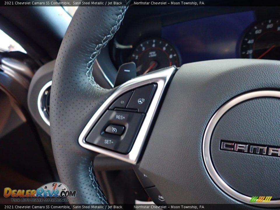 2021 Chevrolet Camaro SS Convertible Steering Wheel Photo #17