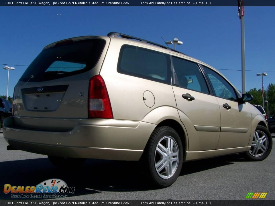 2001 ford focus se wagon jackpot gold metallic medium graphite grey photo 6. Black Bedroom Furniture Sets. Home Design Ideas