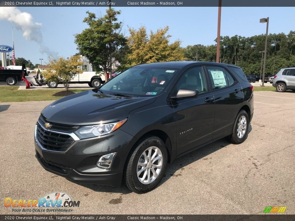 2020 Chevrolet Equinox LS Nightfall Gray Metallic / Ash Gray Photo #4