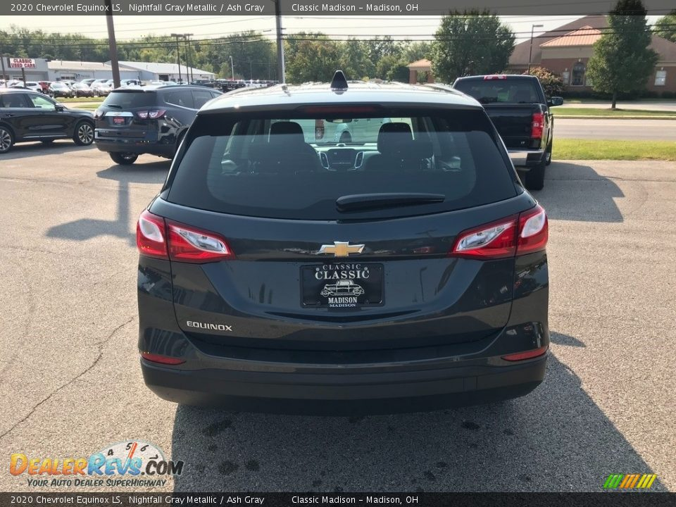 2020 Chevrolet Equinox LS Nightfall Gray Metallic / Ash Gray Photo #5