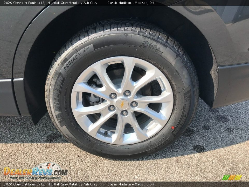 2020 Chevrolet Equinox LS Nightfall Gray Metallic / Ash Gray Photo #6