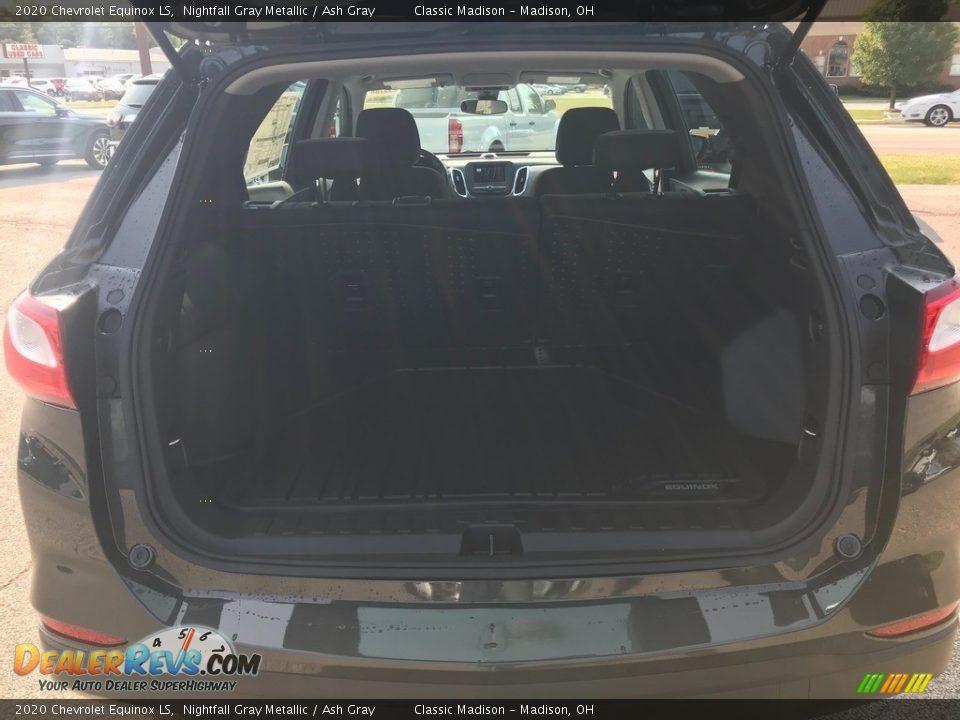 2020 Chevrolet Equinox LS Nightfall Gray Metallic / Ash Gray Photo #17