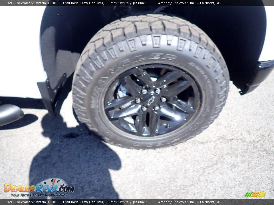 2020 Chevrolet Silverado 1500 LT Trail Boss Crew Cab 4x4 Summit White / Jet Black Photo #2