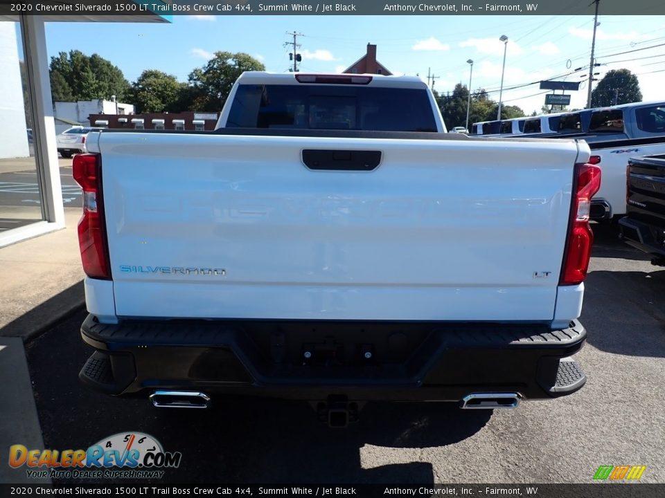 2020 Chevrolet Silverado 1500 LT Trail Boss Crew Cab 4x4 Summit White / Jet Black Photo #4