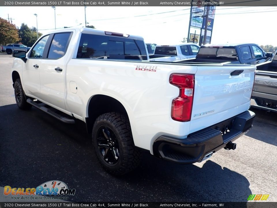 2020 Chevrolet Silverado 1500 LT Trail Boss Crew Cab 4x4 Summit White / Jet Black Photo #5