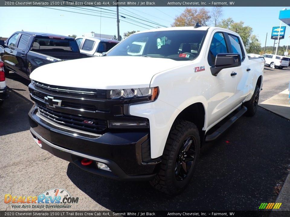 2020 Chevrolet Silverado 1500 LT Trail Boss Crew Cab 4x4 Summit White / Jet Black Photo #6