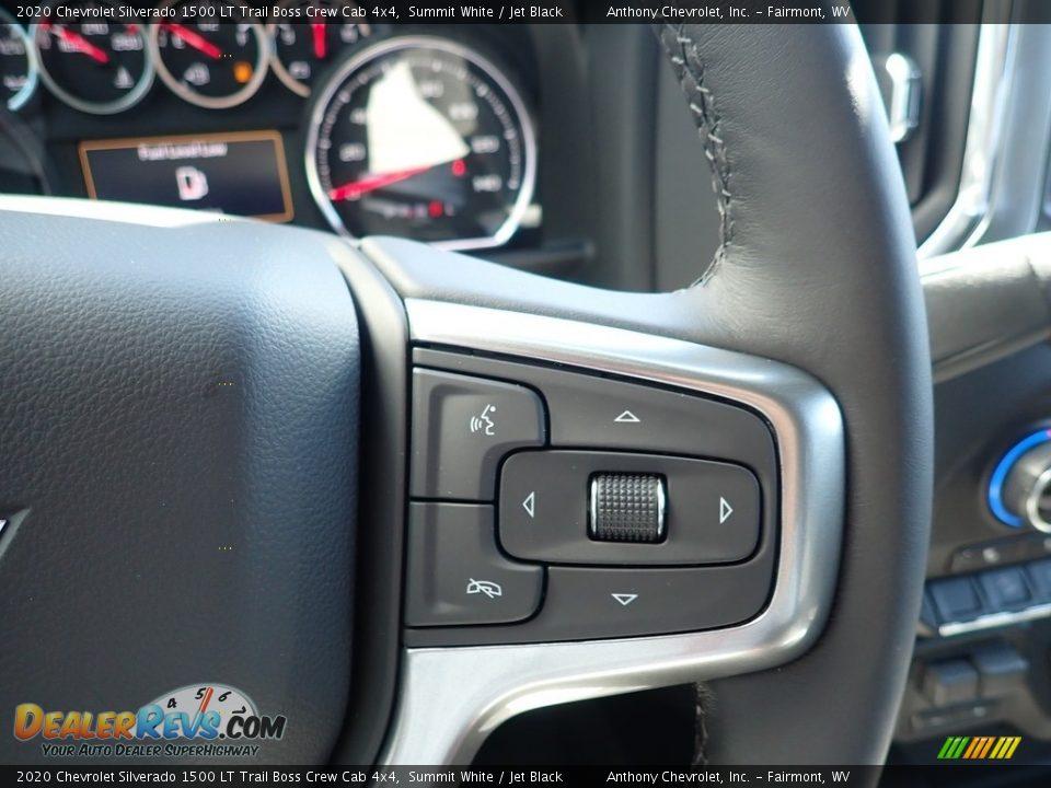 2020 Chevrolet Silverado 1500 LT Trail Boss Crew Cab 4x4 Summit White / Jet Black Photo #18