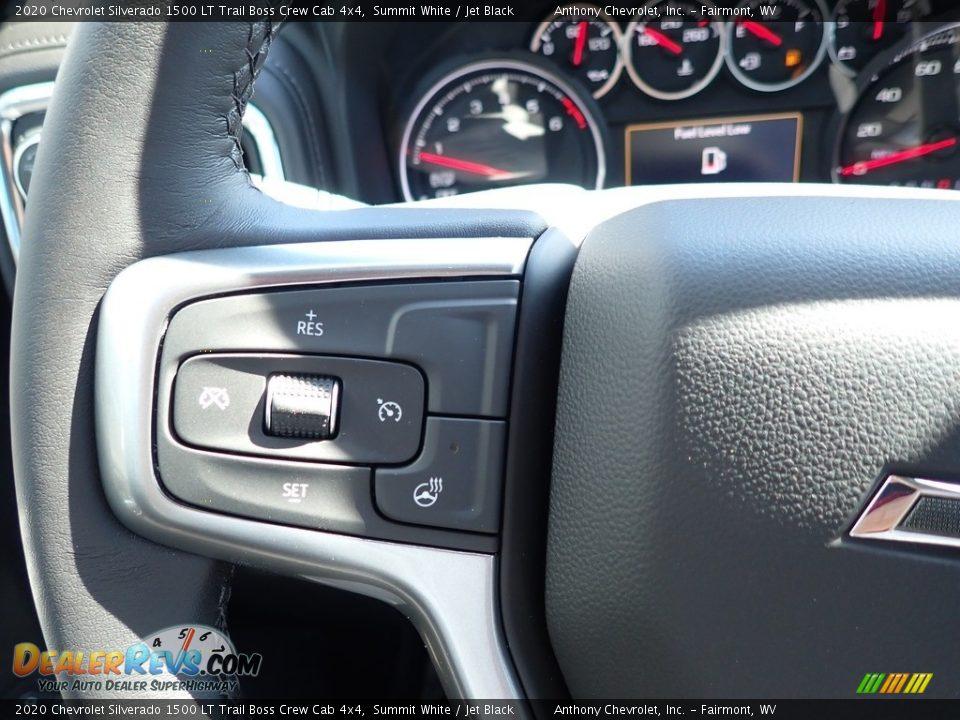 2020 Chevrolet Silverado 1500 LT Trail Boss Crew Cab 4x4 Summit White / Jet Black Photo #19