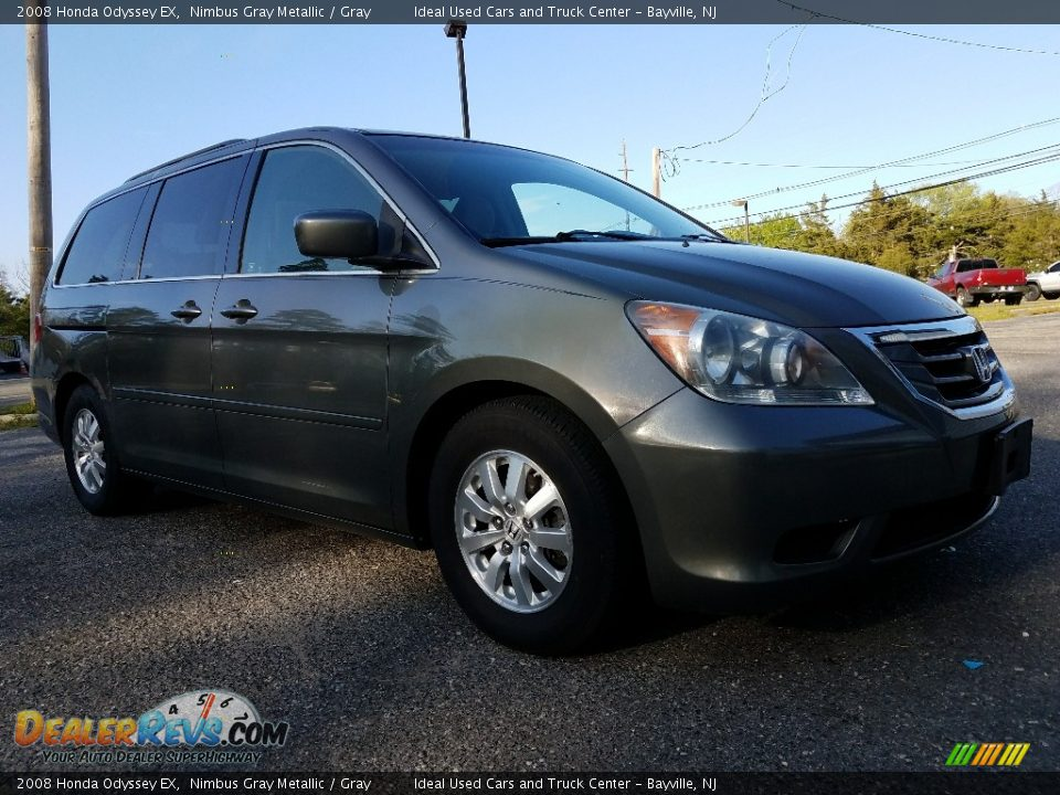 2008 Honda Odyssey EX Nimbus Gray Metallic / Gray Photo #1