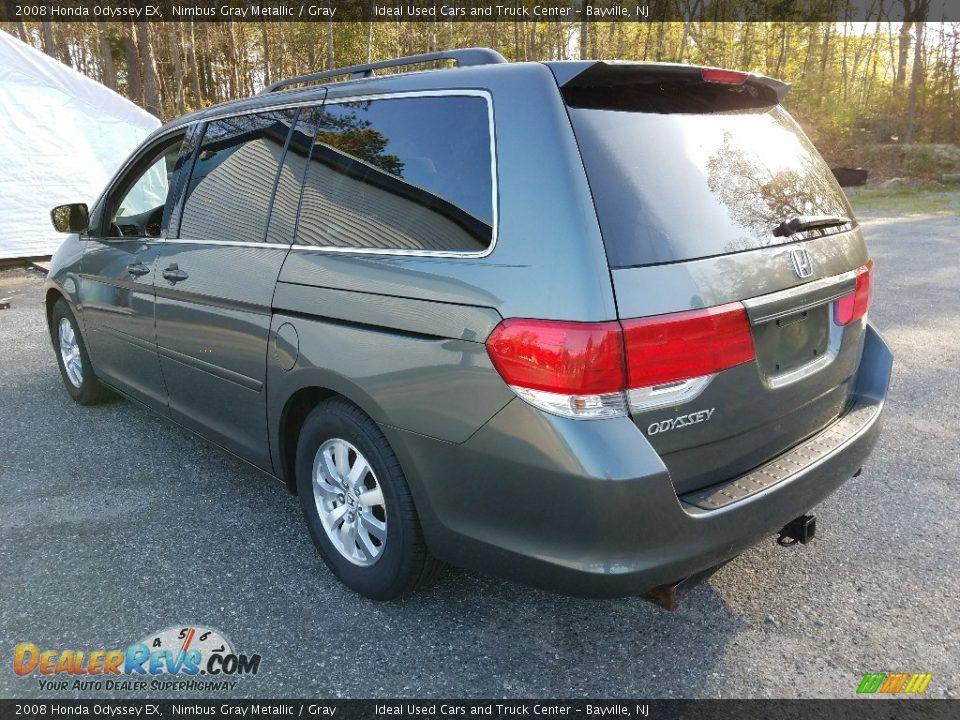 2008 Honda Odyssey EX Nimbus Gray Metallic / Gray Photo #2