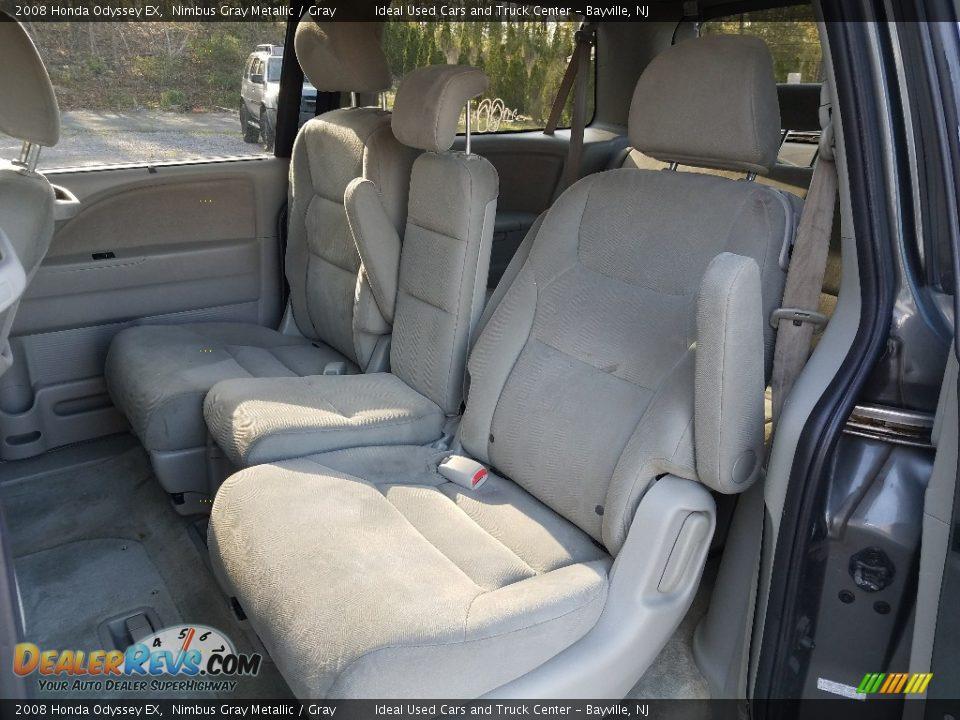 2008 Honda Odyssey EX Nimbus Gray Metallic / Gray Photo #3