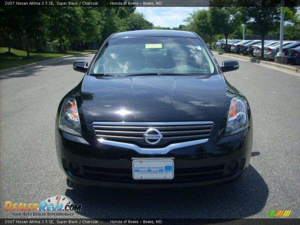 2007 Nissan Altima 3.5 SE Super Black / Charcoal Photo #8 | DealerRevs ...