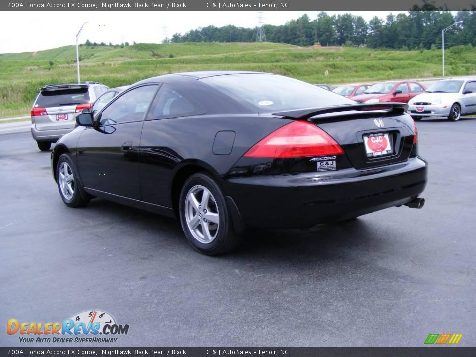 2004 honda accord ex coupe nighthawk black pearl black. Black Bedroom Furniture Sets. Home Design Ideas