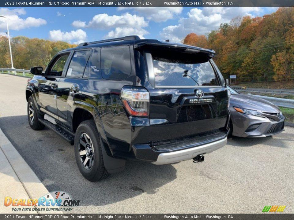 2021 Toyota 4Runner TRD Off Road Premium 4x4 Midnight Black Metallic / Black Photo #2