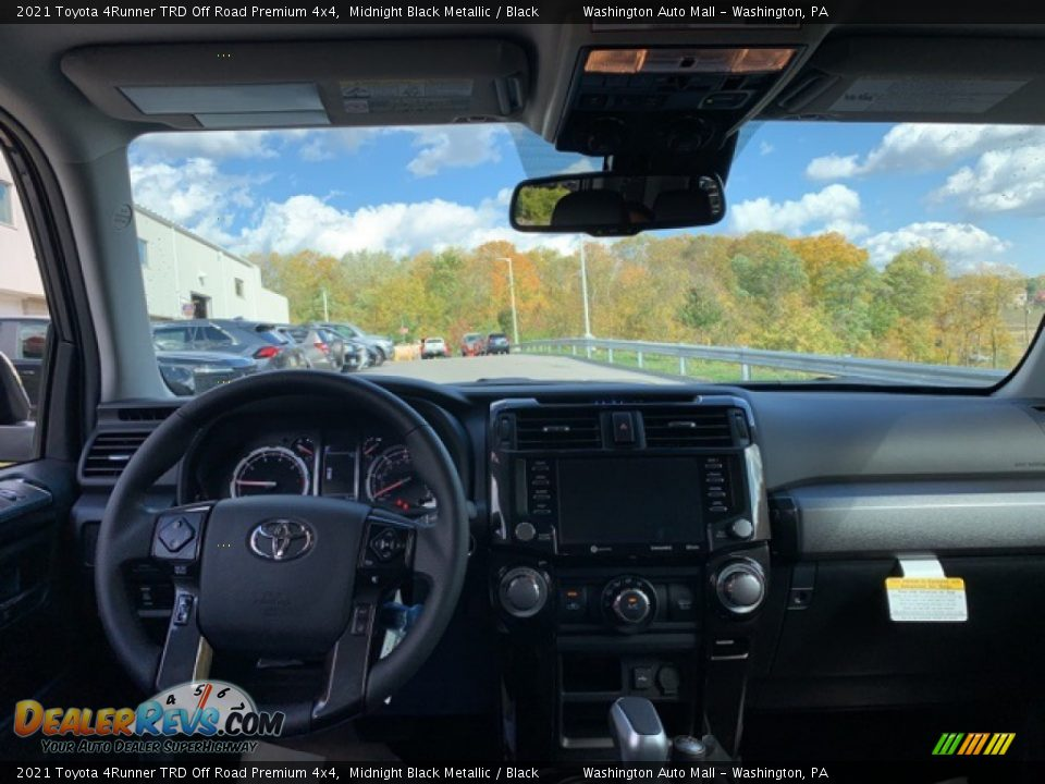 2021 Toyota 4Runner TRD Off Road Premium 4x4 Midnight Black Metallic / Black Photo #3