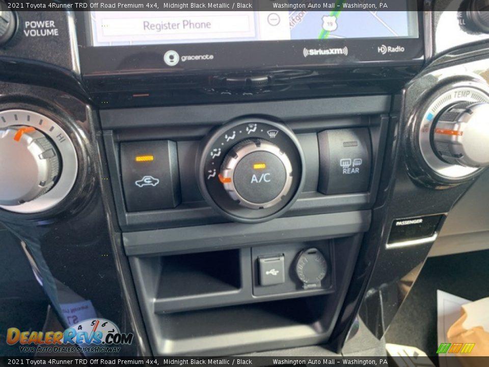 Controls of 2021 Toyota 4Runner TRD Off Road Premium 4x4 Photo #9