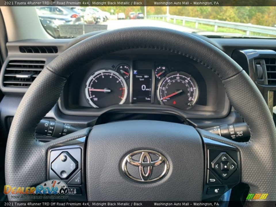 2021 Toyota 4Runner TRD Off Road Premium 4x4 Gauges Photo #10