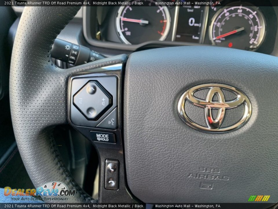 2021 Toyota 4Runner TRD Off Road Premium 4x4 Steering Wheel Photo #11