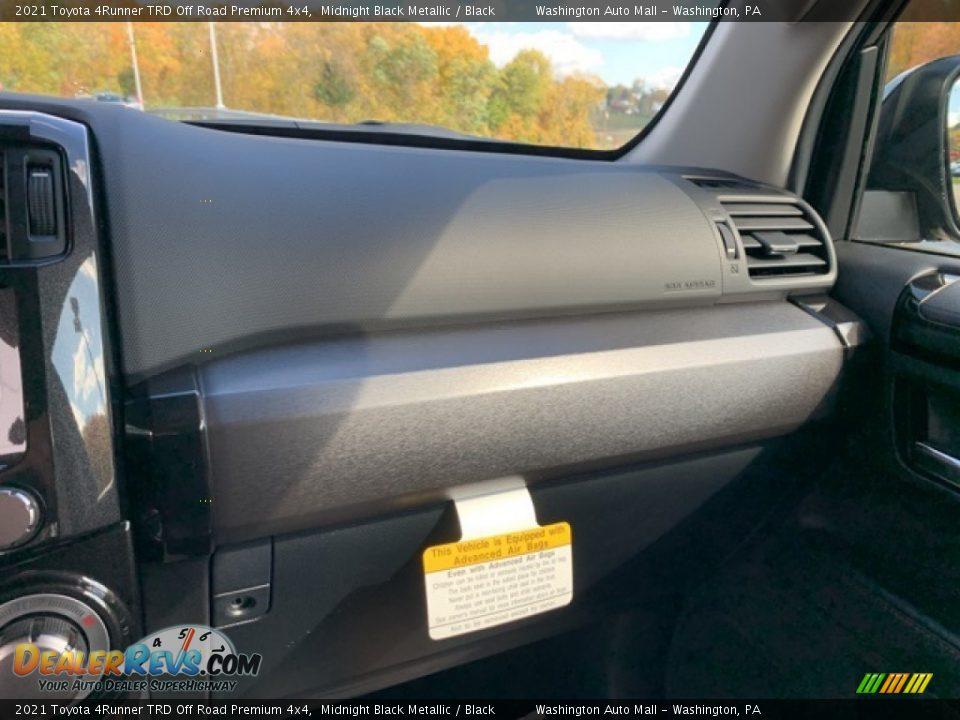 2021 Toyota 4Runner TRD Off Road Premium 4x4 Midnight Black Metallic / Black Photo #17