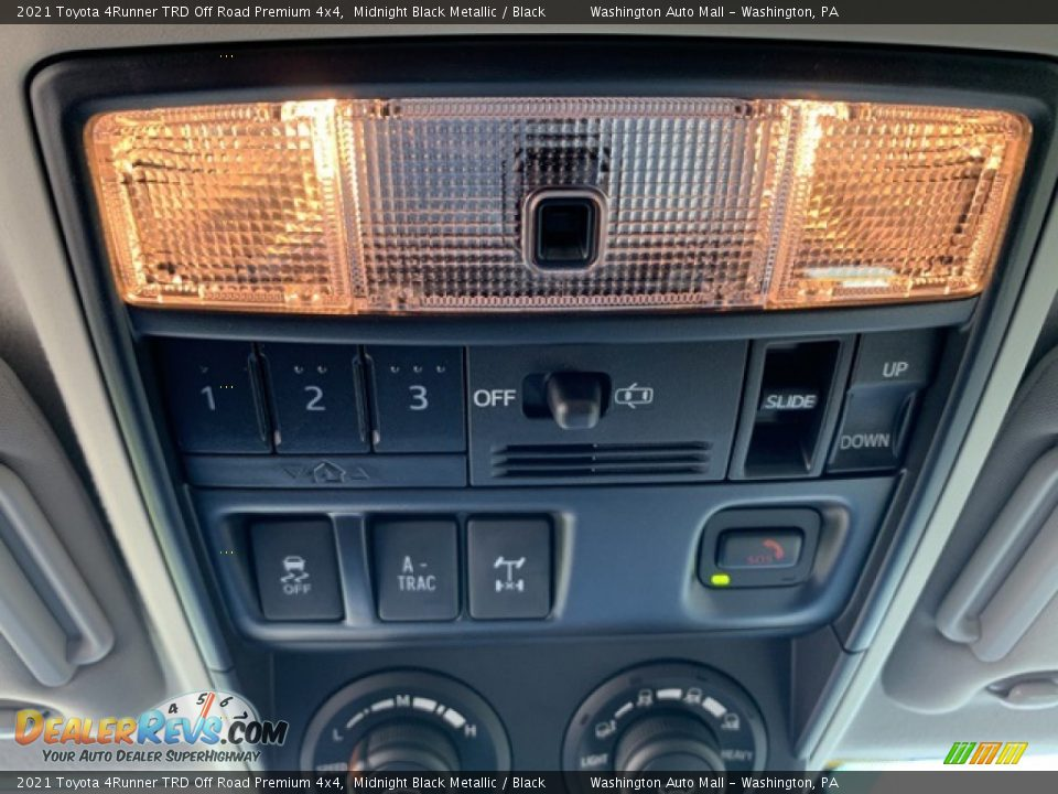 2021 Toyota 4Runner TRD Off Road Premium 4x4 Midnight Black Metallic / Black Photo #18