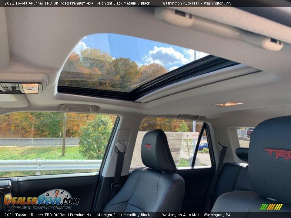 2021 Toyota 4Runner TRD Off Road Premium 4x4 Midnight Black Metallic / Black Photo #20