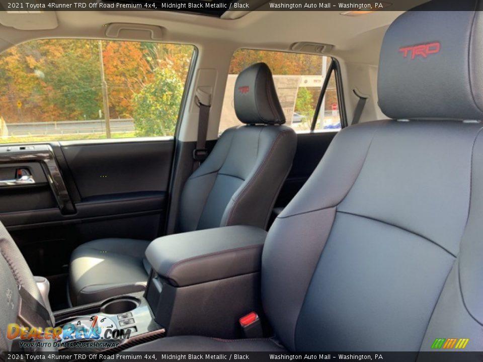 2021 Toyota 4Runner TRD Off Road Premium 4x4 Midnight Black Metallic / Black Photo #21