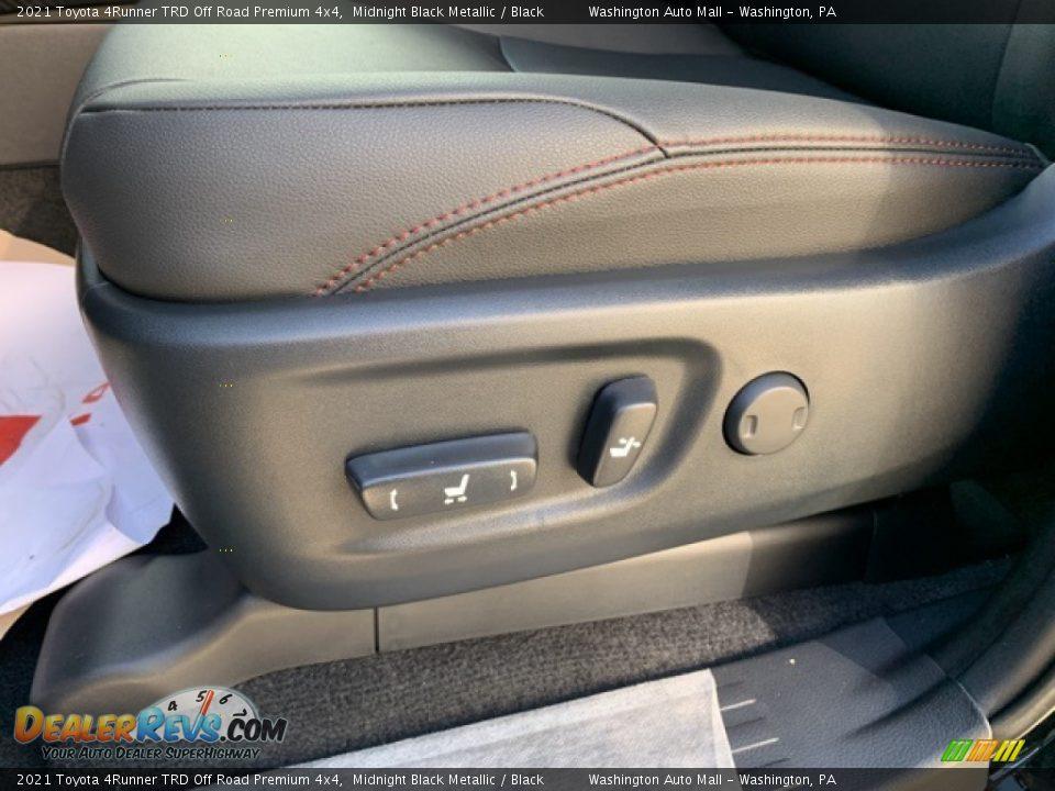 2021 Toyota 4Runner TRD Off Road Premium 4x4 Midnight Black Metallic / Black Photo #22