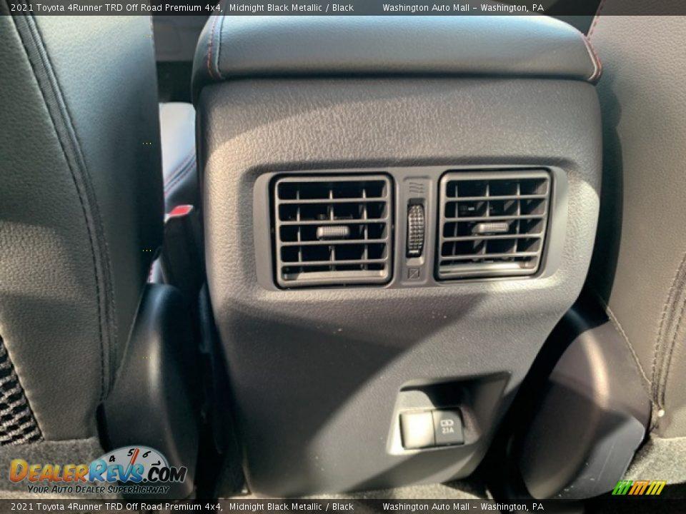 2021 Toyota 4Runner TRD Off Road Premium 4x4 Midnight Black Metallic / Black Photo #28