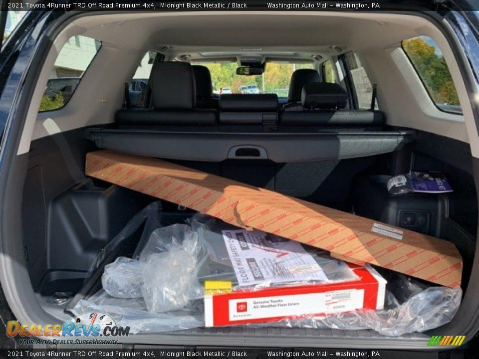 2021 Toyota 4Runner TRD Off Road Premium 4x4 Trunk Photo #30