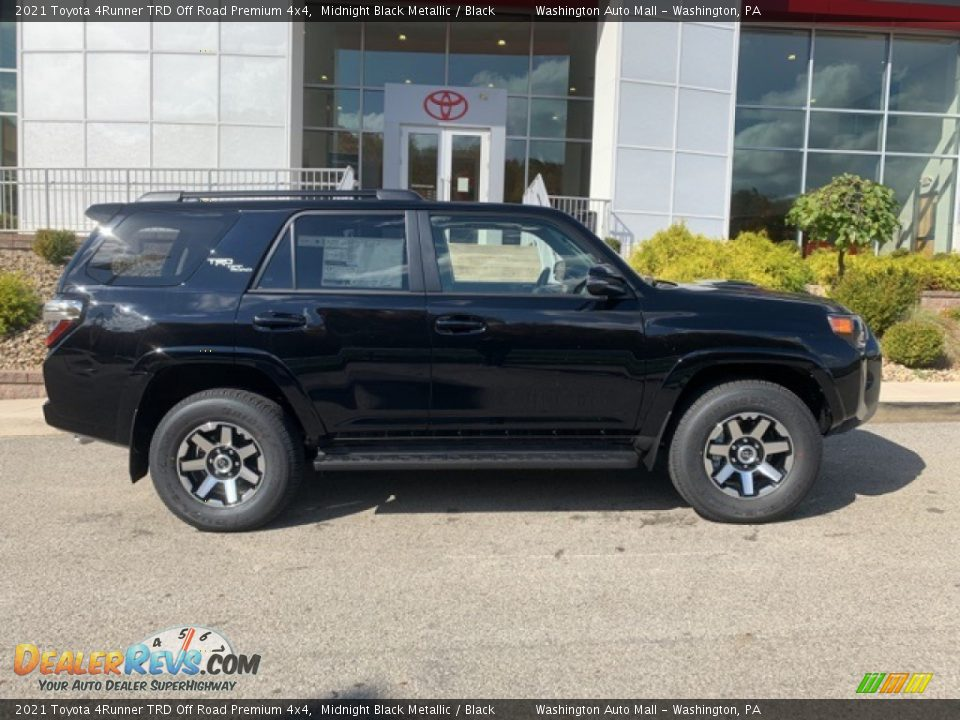 Midnight Black Metallic 2021 Toyota 4Runner TRD Off Road Premium 4x4 Photo #35