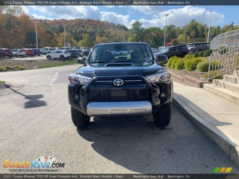 2021 Toyota 4Runner TRD Off Road Premium 4x4 Midnight Black Metallic / Black Photo #36