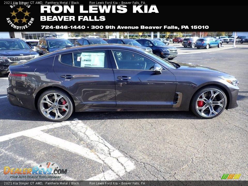 2021 Kia Stinger GT AWD Panthera Metal / Black Photo #1