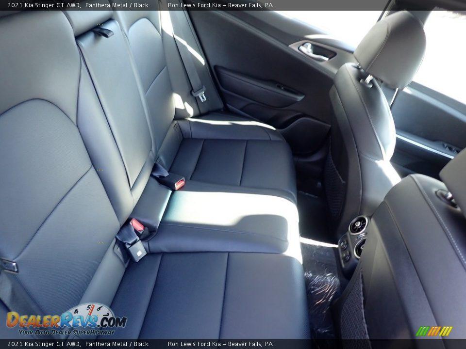 Rear Seat of 2021 Kia Stinger GT AWD Photo #9