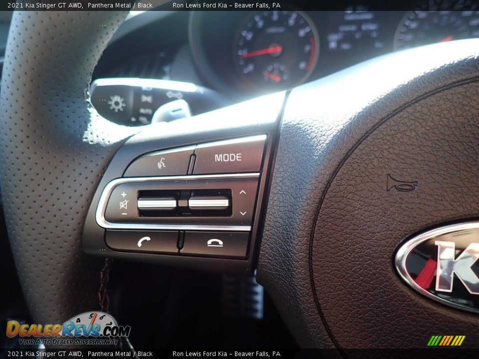 2021 Kia Stinger GT AWD Steering Wheel Photo #18