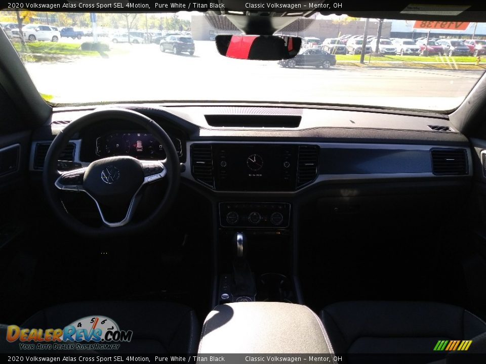 2020 Volkswagen Atlas Cross Sport SEL 4Motion Pure White / Titan Black Photo #3