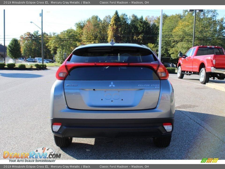 2019 Mitsubishi Eclipse Cross ES Mercury Gray Metallic / Black Photo #6