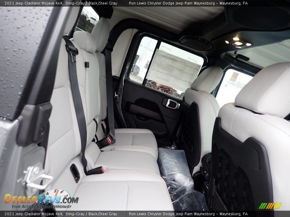Rear Seat of 2021 Jeep Gladiator Mojave 4x4 Photo #6